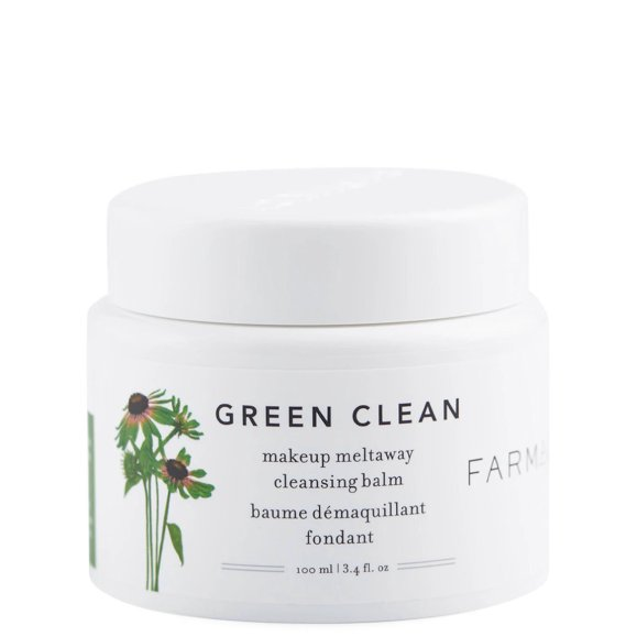 Farmacy Green Clean Makeup Meltaway Cleansing Balm 3.4 oz product swatch.