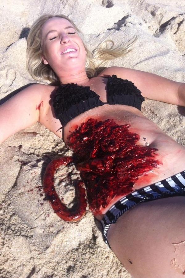 Shark attack Makeup  Keera Fs Photo  Beautylish