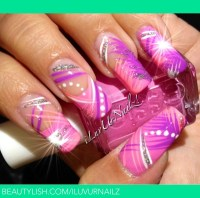 Abstract Nail Design