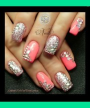 blinged nails bethany .'s
