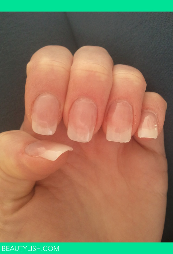 Natural acrylic nails  Charlotte Ss Photo  Beautylish