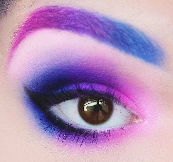Pink Purple Blue Ombre Drea L S Dreaalghul Photo