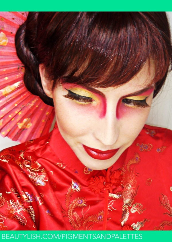 Traditional Chinese Makeup With A Twist Meredith Js