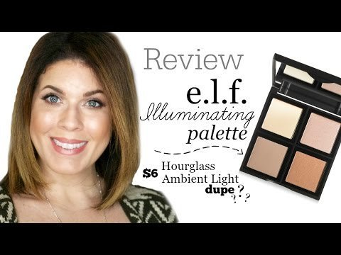 review e l f illuminating palette