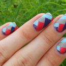 braided nail design suzi .'s