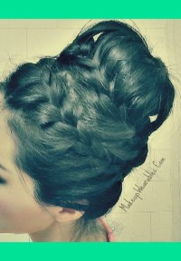 How to: Never-Ending, French Braid Sock Bun on Your Own ...