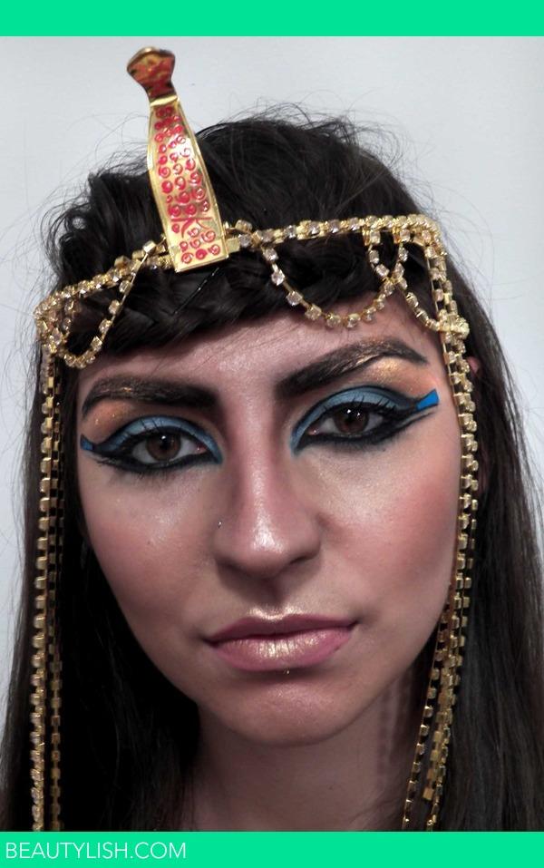 Cleopatra Halloween Look  PrettySquared Ms Photo