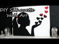 DIY Silhouette Wall Art | SecretLifeOfaBioNerd Video ...