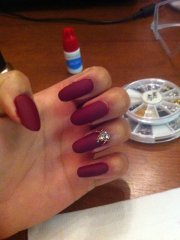 bordeaux nails art - nail ftempo
