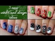 three easy christmas design