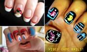 video game manicures beautylish
