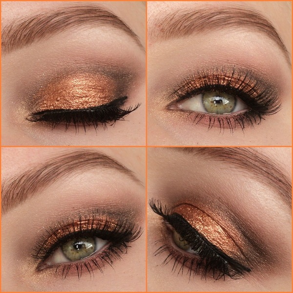 Mac Copper Sparkle Look Eline Fs Photo Beautylish
