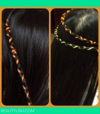 Hair braids with thread  | Carissa R.'s Photo | Beautylish
