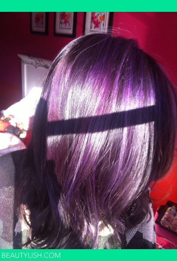 My Purple Hair Jessie Bs Photo Beautylish