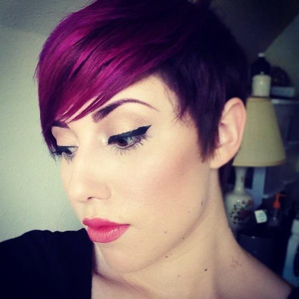 Violet Hair Alyssa Us Photo Beautylish