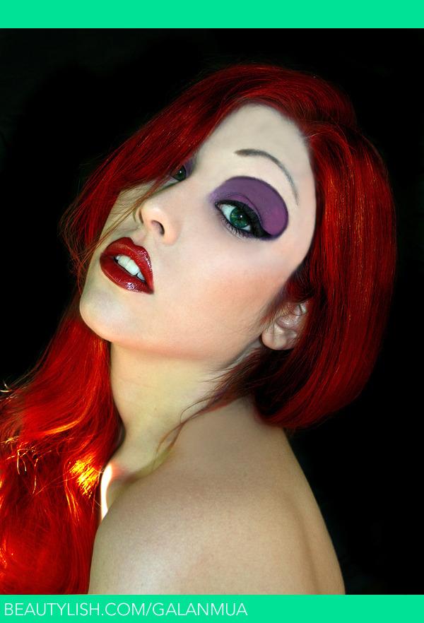 Jessica Rabbit inspired MakeUp  Julia Gs GalanMUA Photo  Beautylish