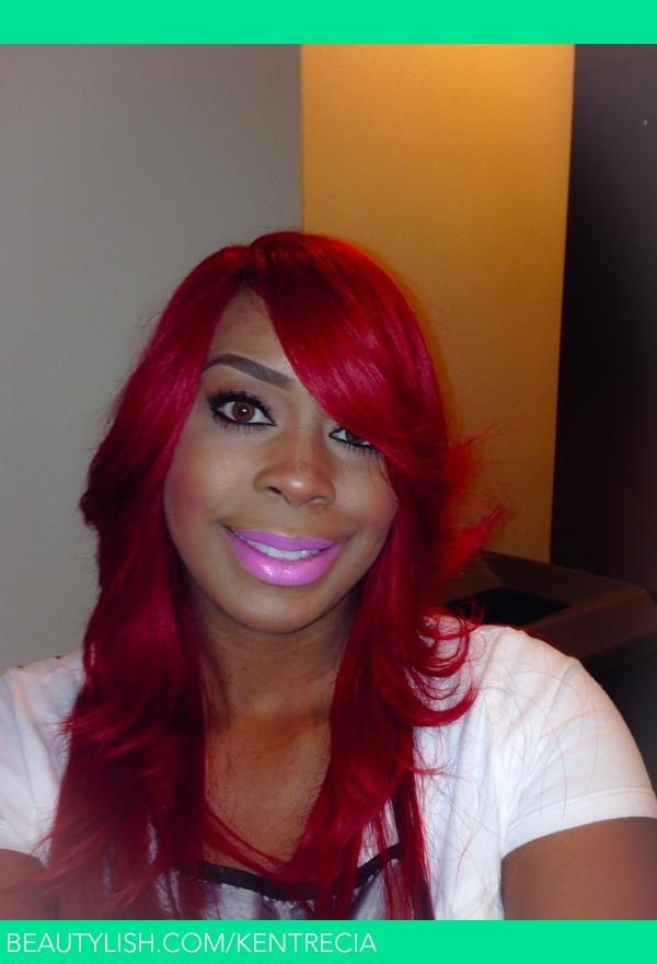 Ruby Red Hair Color Kentrecia Ds Kentrecia Photo