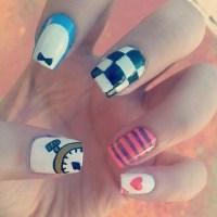 Alice in Wonderland Nail Art | Melanie B.'s (MelTamara ...