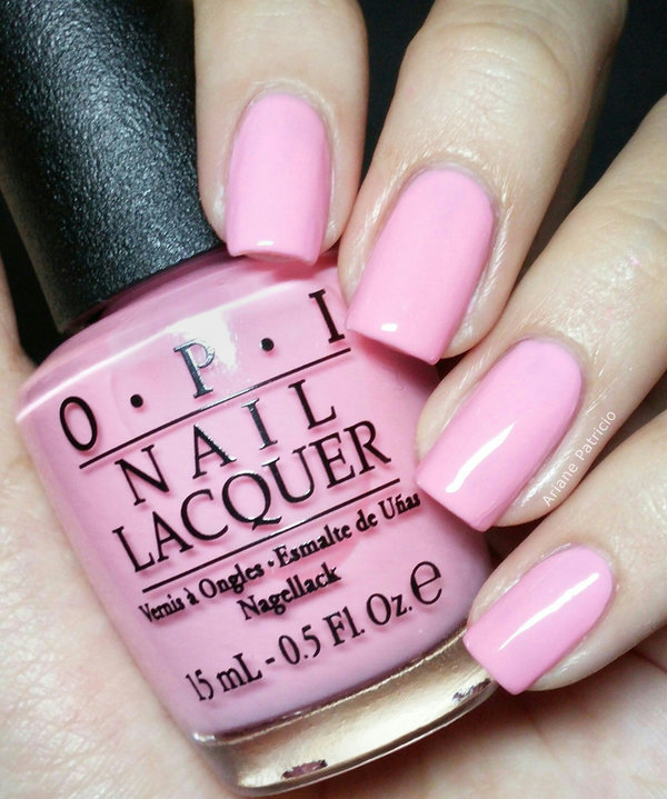 OPI Pinking Of You Ariane Ps ArianePatricio Photo