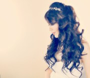 lush princess curly hairstyle