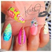 encapsulated stiletto nails