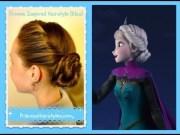 elsa hairstyle inspired disney
