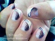 edited elegant french nail art