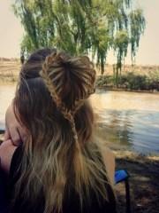 heart braid hairstyle kristy