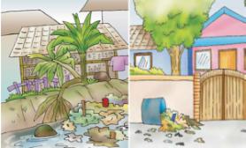 Gambar Animasi Rumah Yang Bersih  Gambar Con