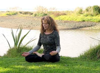 Dyana Wells, meditation