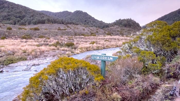 Umukarikari and Waipakihi River