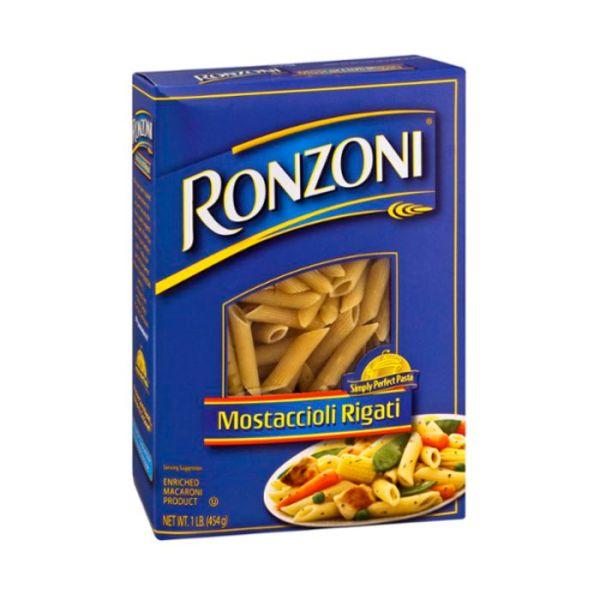 Buy Ronzoni Mostaccioli Rigati No 86 16 o Online