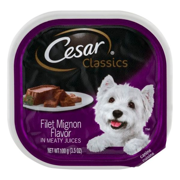 Buy Cesar Classics Canine Cuisine Filet Mign Online