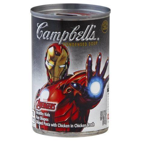 Buy Campbells Soup Condensed Marvel Avenger Online