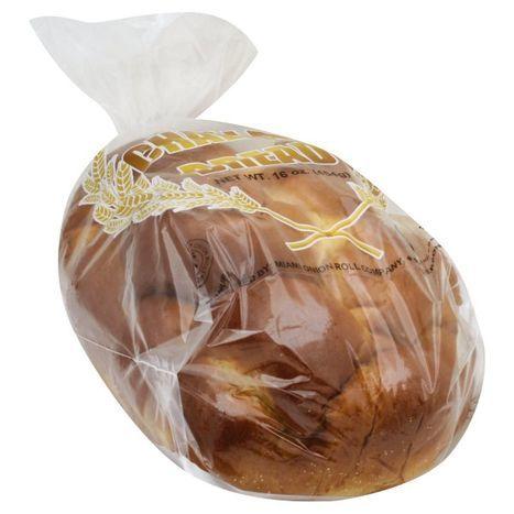 Buy Miami Onion Roll Bread Challah 16 Ounces Online