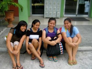 L-R: Xjern, Gly, Camille, Me