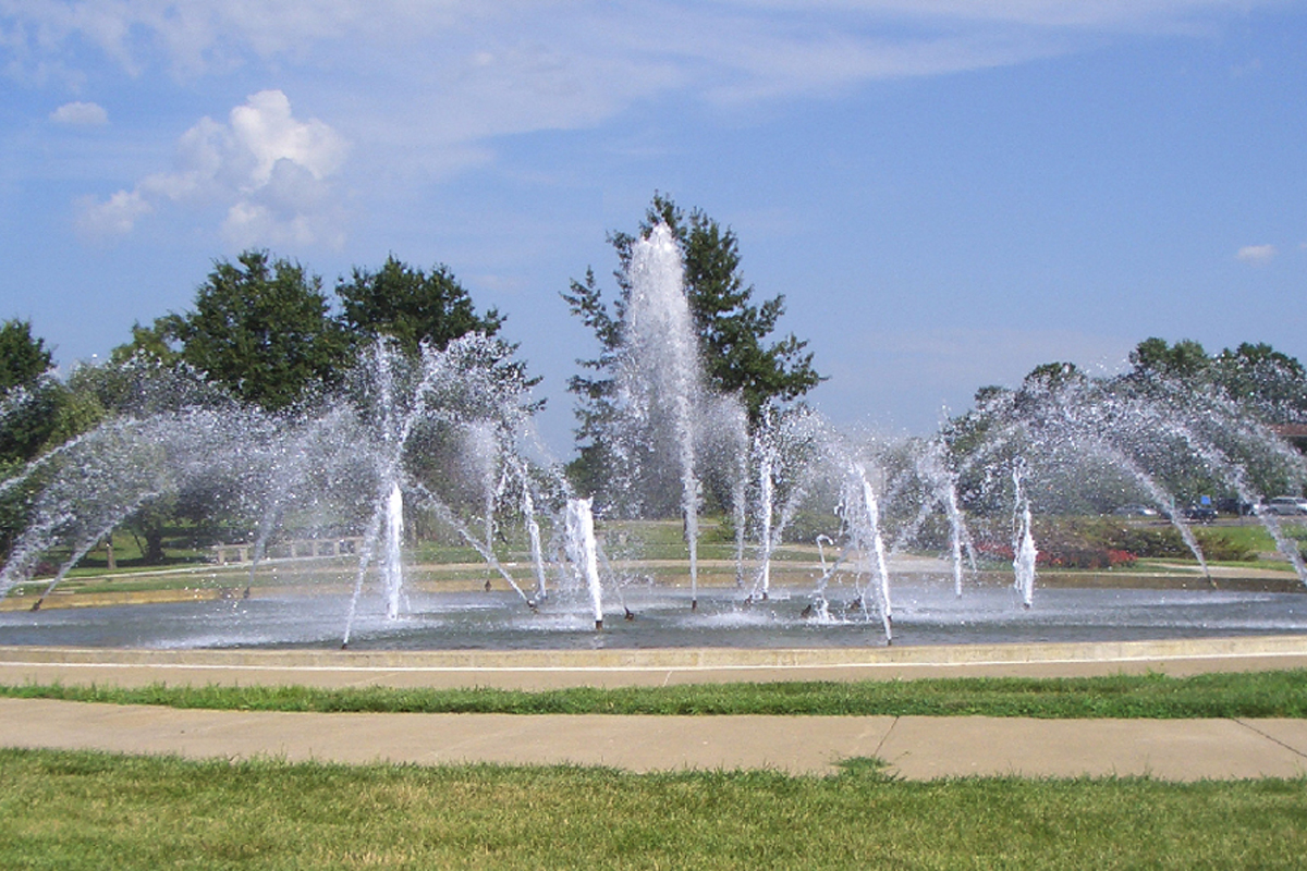Kansas City Northland Fountain Vivion Rd