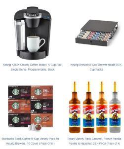 Wish List Coffee Station items