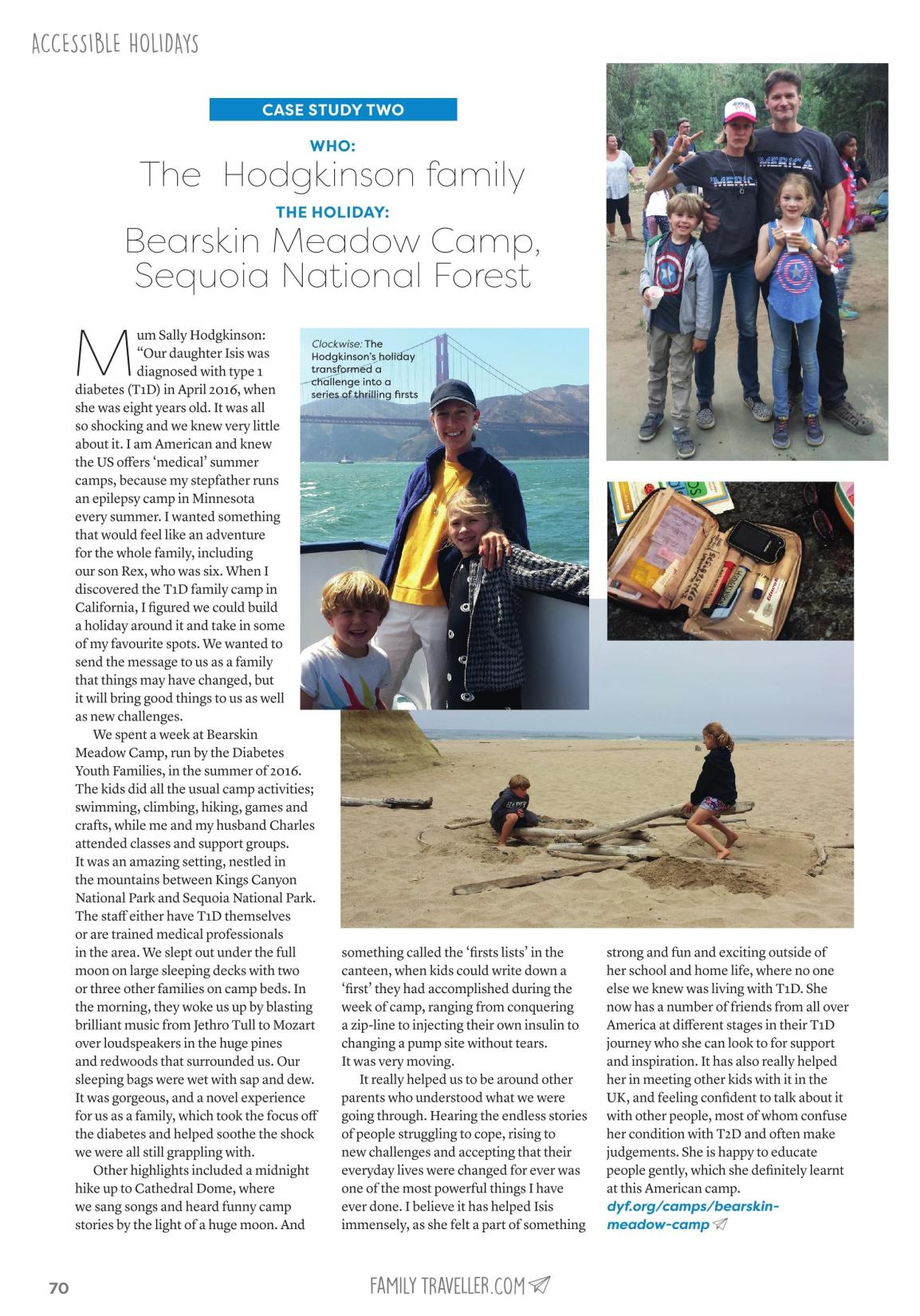 Family Traveller Article