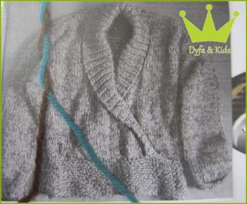 12 - Pullover mit Wickeloptik Mohana - 2009