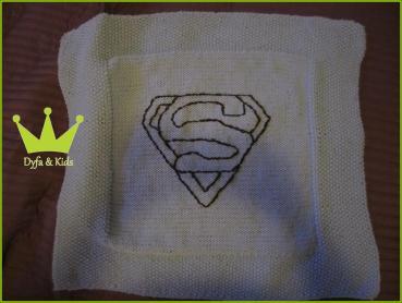 30 - Babydecke Superman Dyfa&Kids - 2012