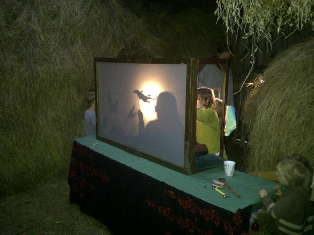 Having a go with the Shadow Puppets