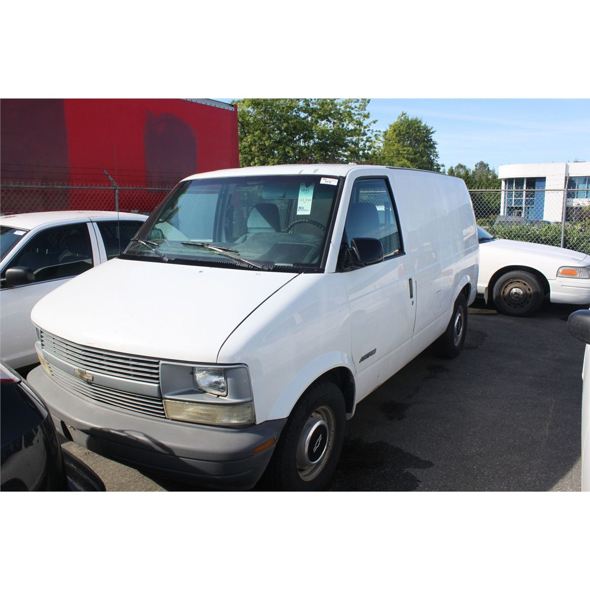 hight resolution of image 1 1995 white chevy astro cargo van