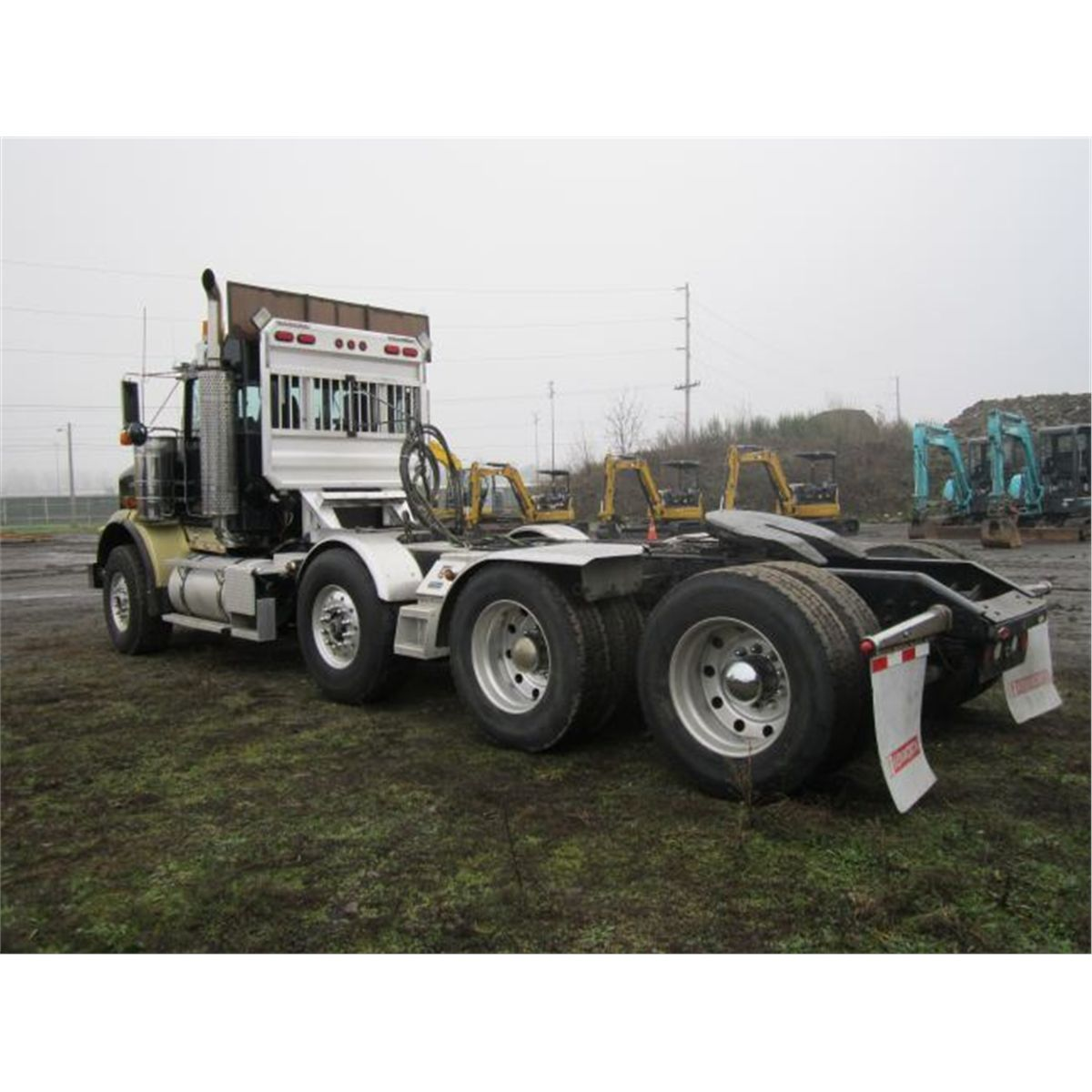 hight resolution of 2007 kenworth t800 tractor