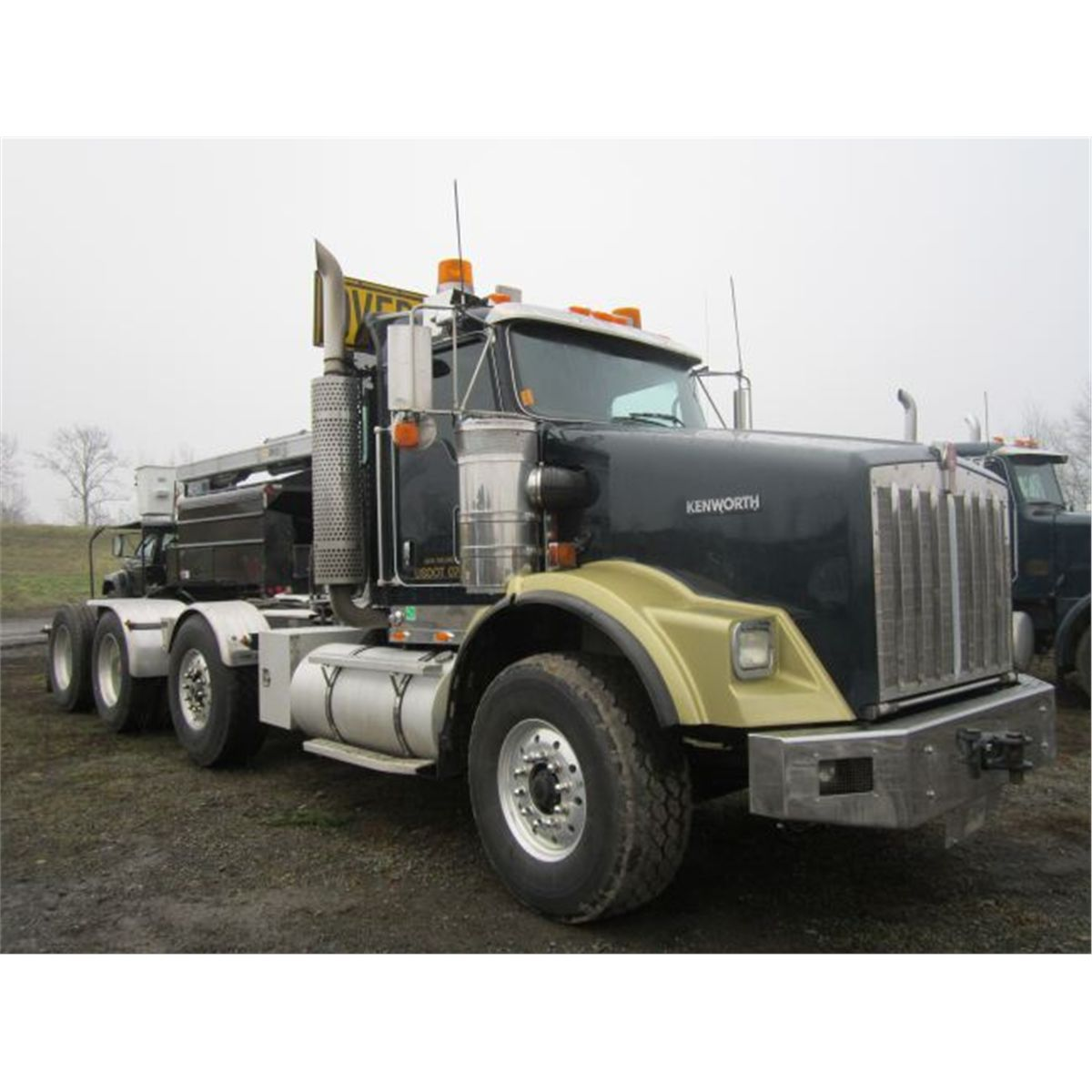 hight resolution of  image 4 2007 kenworth t800 heavy haul truck tractor