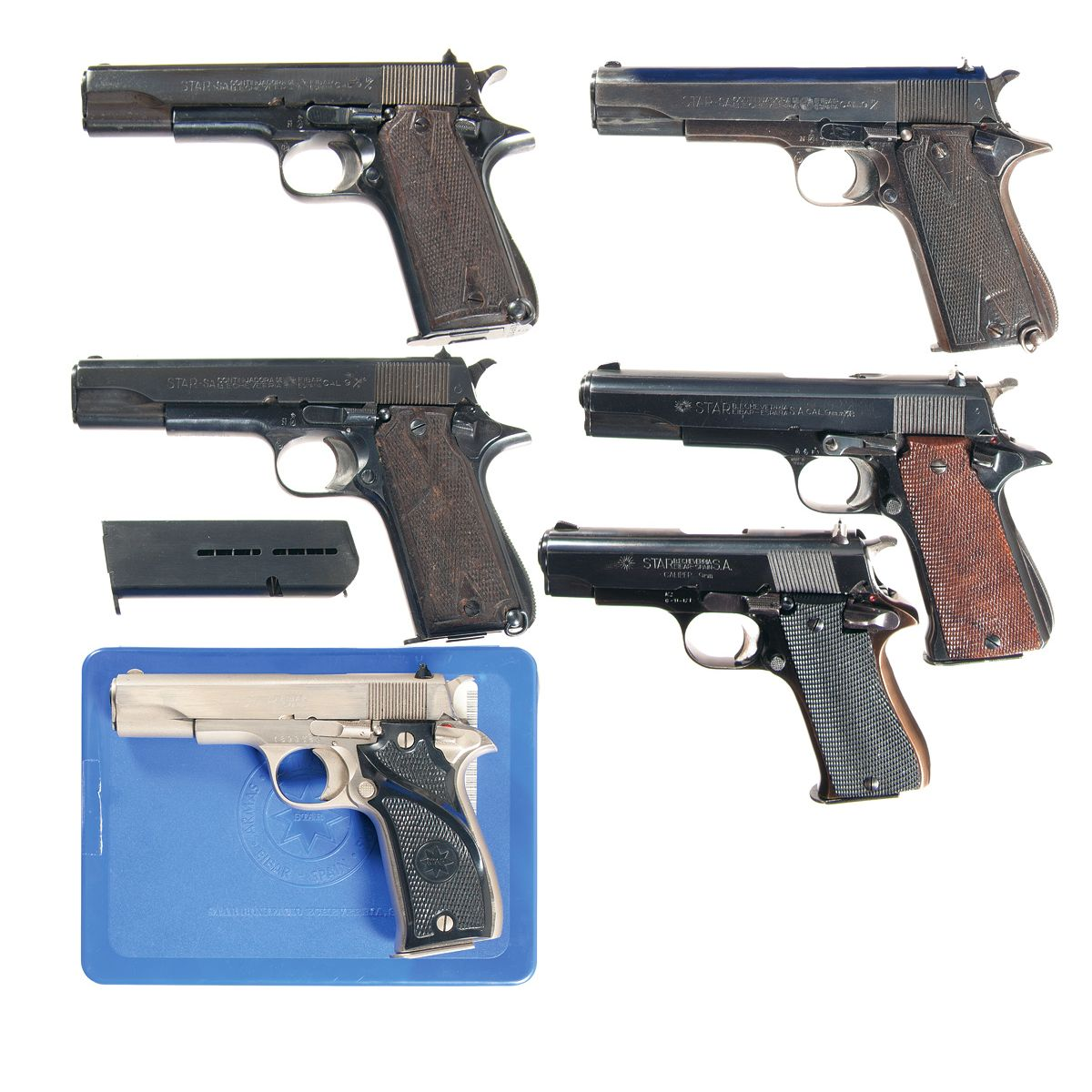hight resolution of image 1 six star semi automatic pistols a rare nazi proofed star
