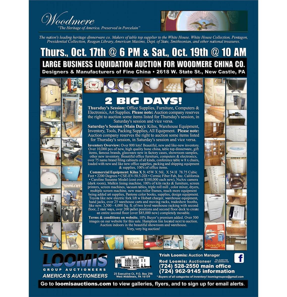 Liquidation World Flyer Auction Flyer