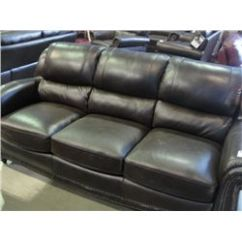 Brown Leather Studded Sofa Red Cheap Chocolate Able Auctions