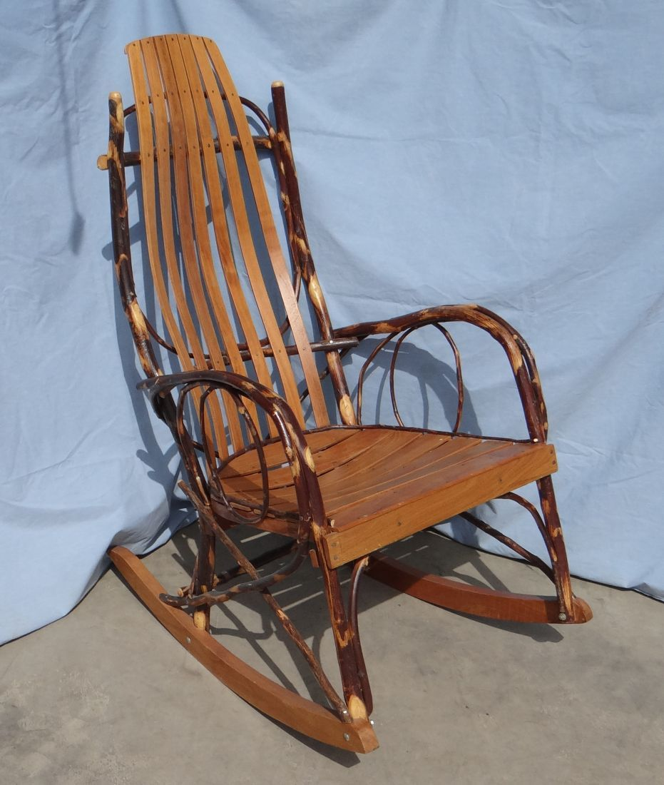 Amish Rocking Chair Willow Rocking Chair Amish Made