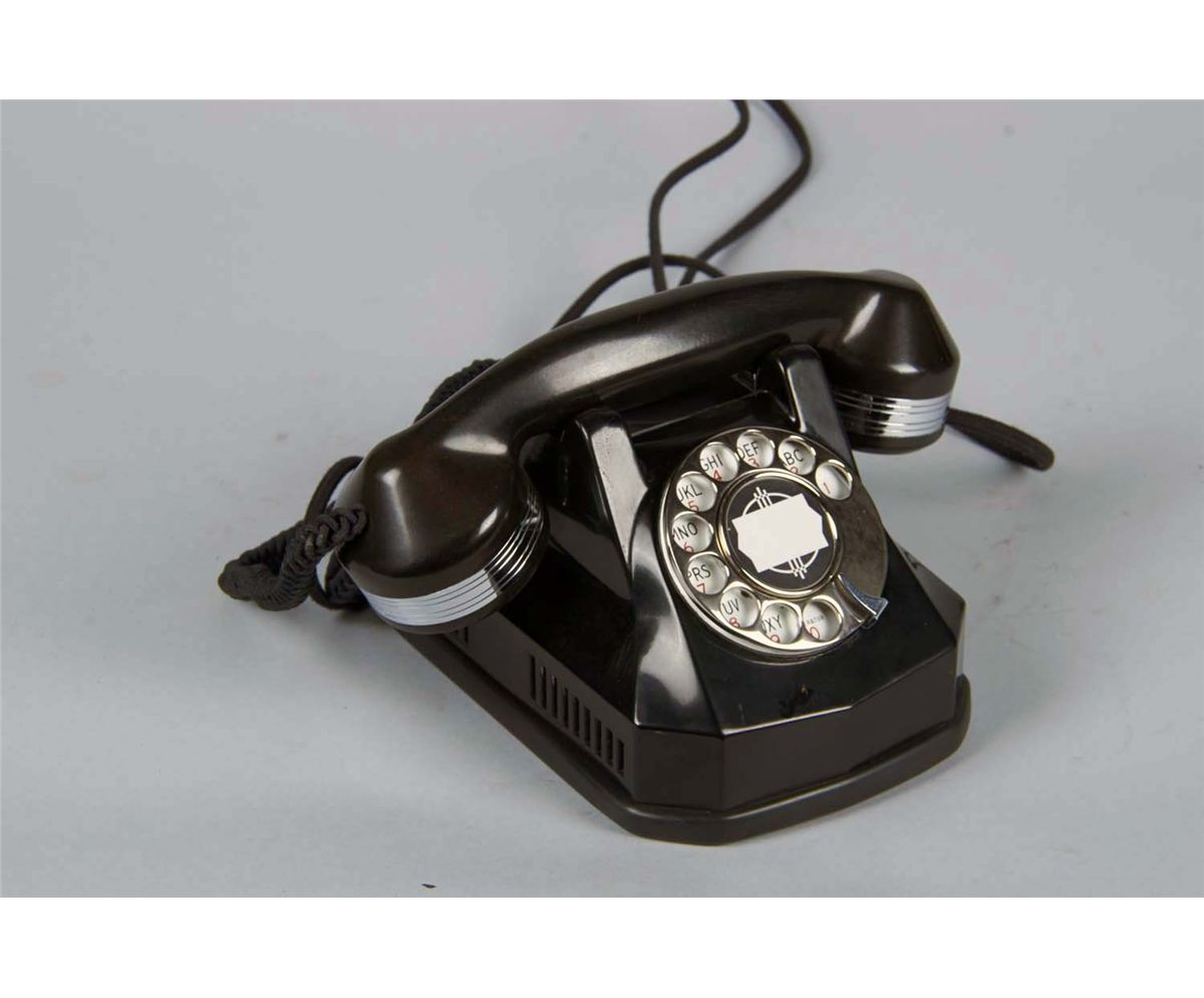 medium resolution of image 1 monophone automatic electric co rotary telephone